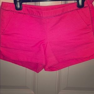 LILLY PULITZER PINK SHORTS SIZE 00